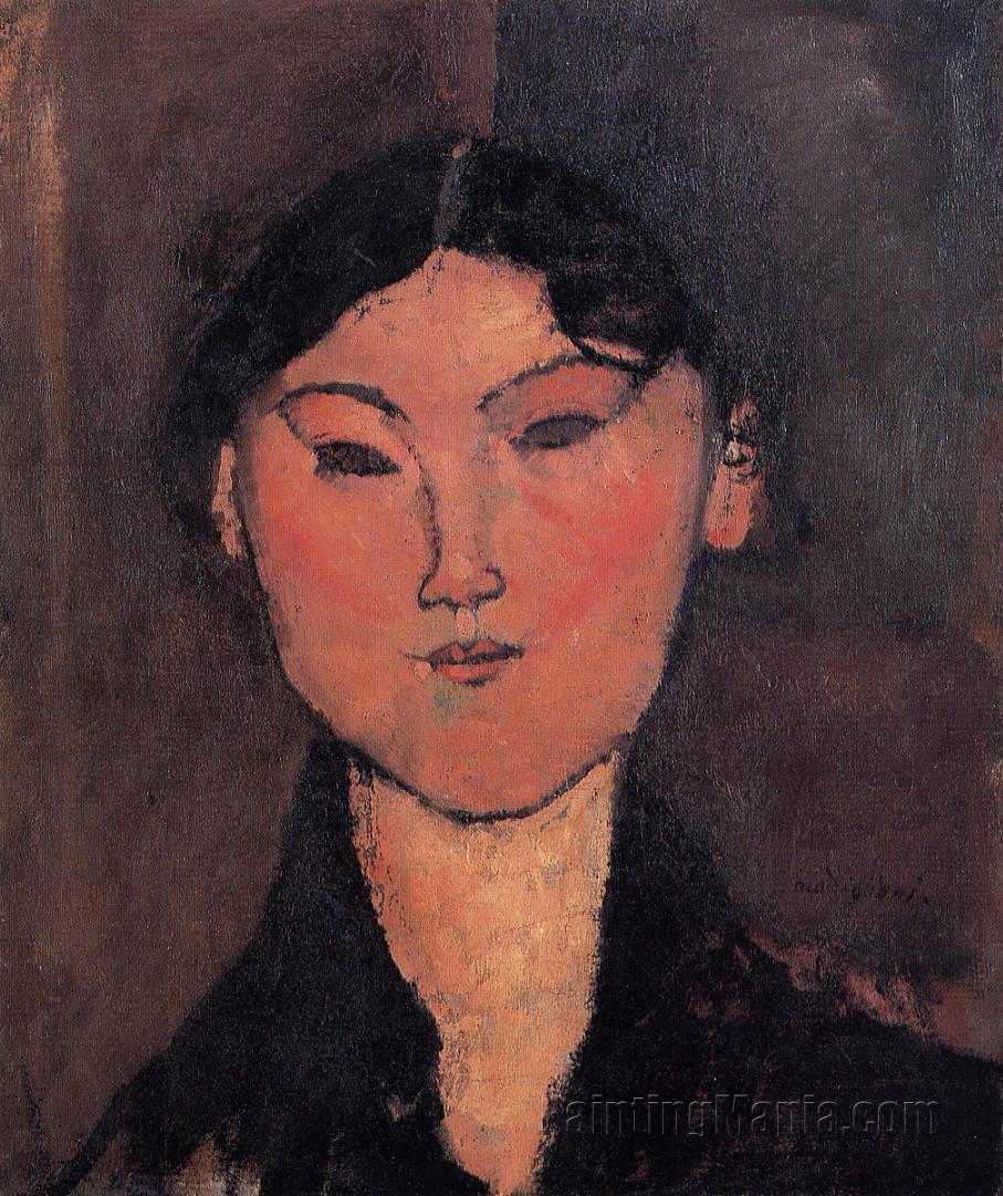 Woman's Head (Rosalia)