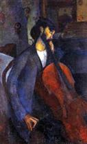 The Cellist 1909