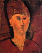 Head of a Red-Haired Woman