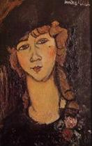 Head of a Woman in a Hat (Lolotte)