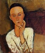 Lunia Czechowska, Left Hand on Her Cheek