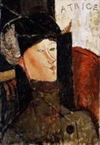 Portrait of Beatrice Hastings 1916