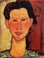 Portrait of Chaim Soutine 1915
