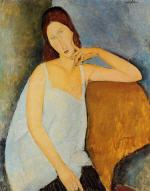 Portrait of Jeanne Hebuterne 1918