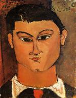 Portrait of Moise Kisling 1915