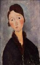 Portrait of a Young Woman 1918-1919