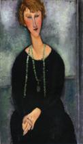 Woman with a Green Necklace (Madame Menier)