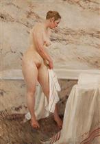 By the Bath Tub