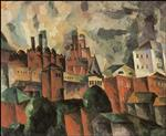 Landscape with a Pink Tower