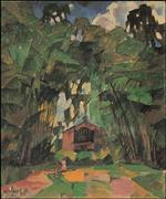 Landscape with a Red House 1918