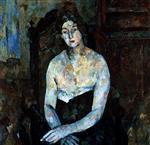 Portrait of Actress Cheboksareva