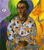 Portrait of Anna Svedonskaya