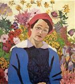 Portrait of Maria Lentulova