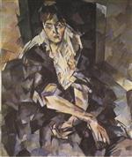 Portrait of O.V. Gzovskaya
