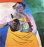Woman with an Accordeon
