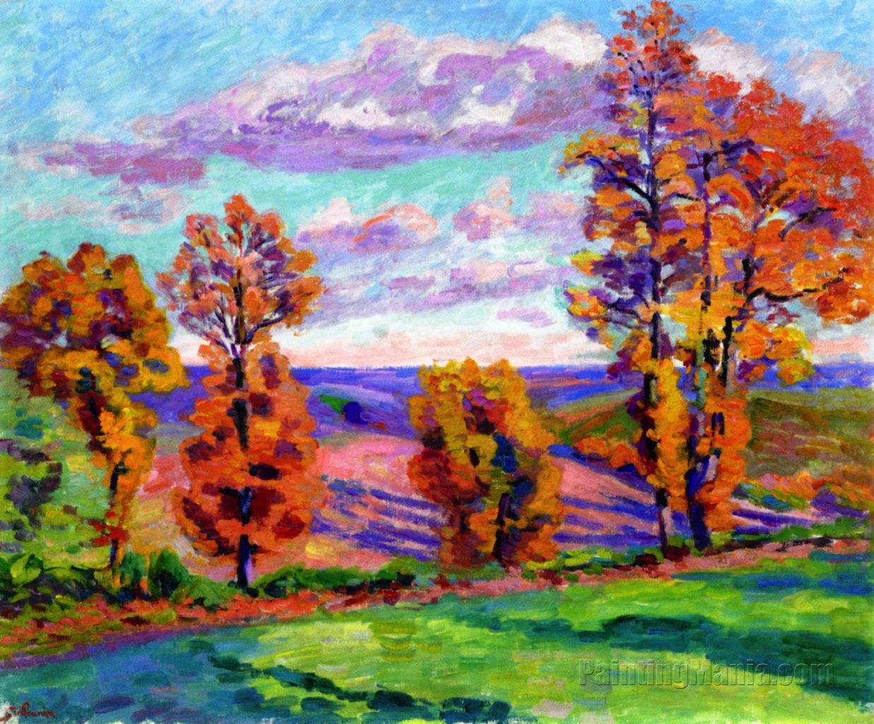 Autumn Landscape, Agay