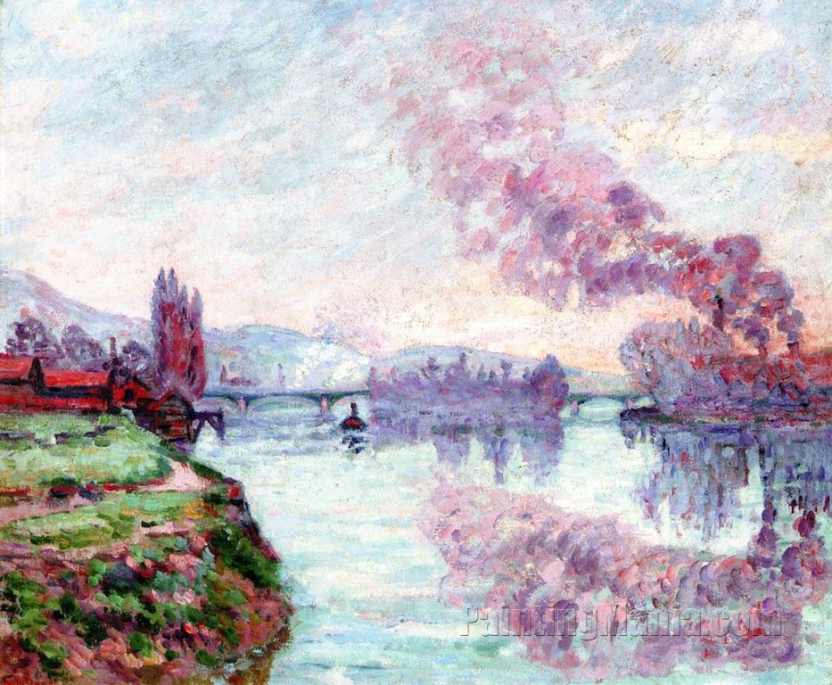 Banks of the Seine near Rouen