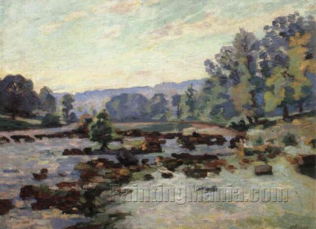 Barrage de Genetin 1902