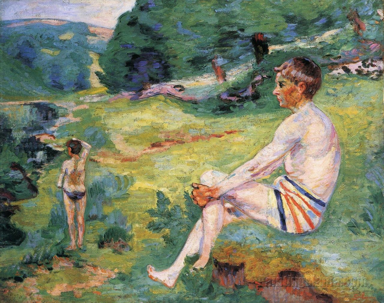 Bathers at Crozant