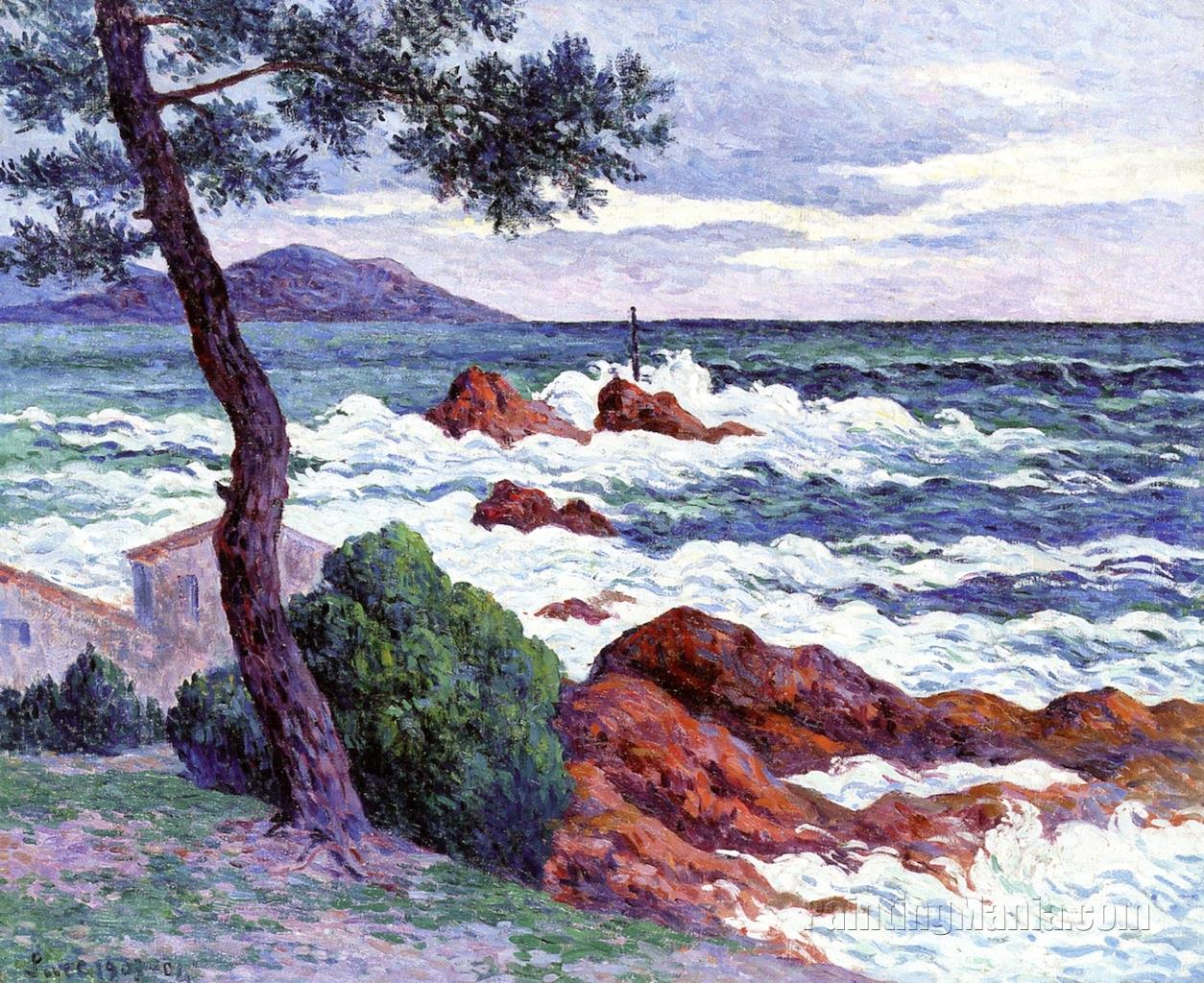 A Cutting Wind from the East at Saint-Claire
