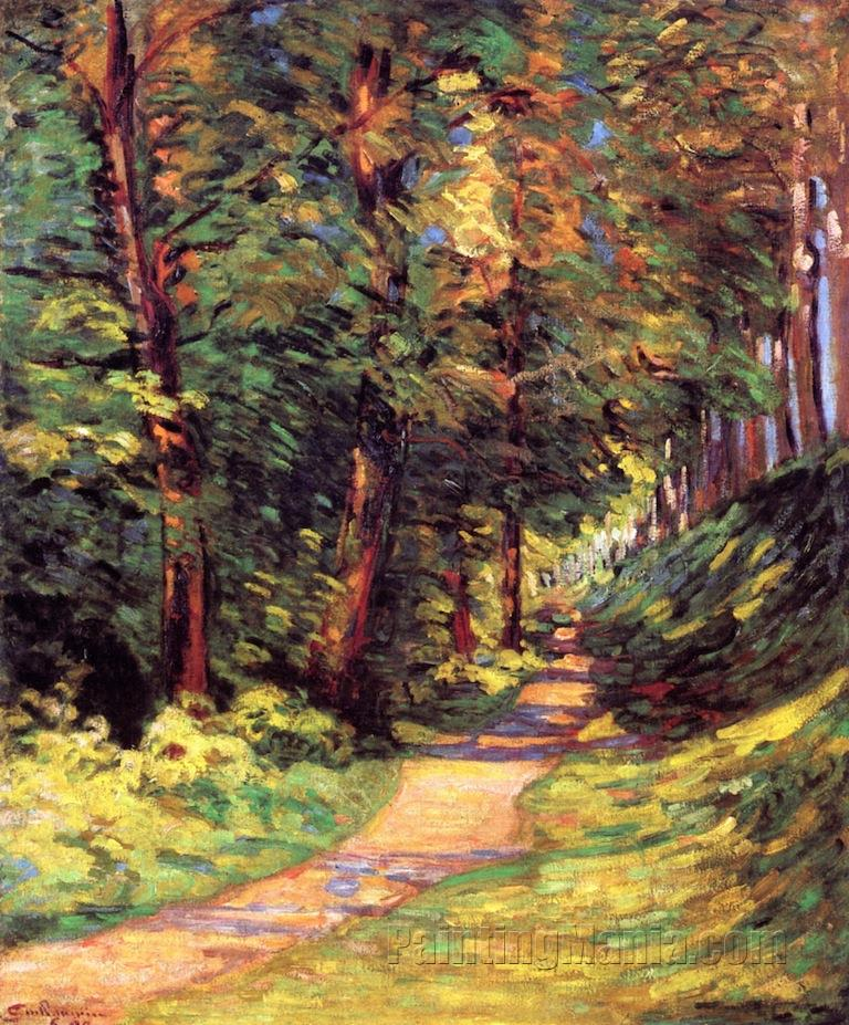 Epinay-sur-Orge: A Path in the Woods