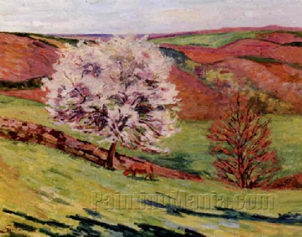 Flowering Trees in Saint-Cheron