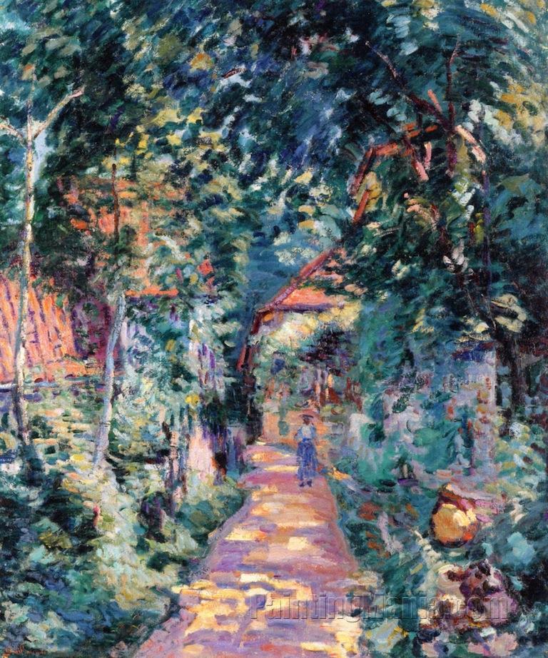 Garden at Pontcharra