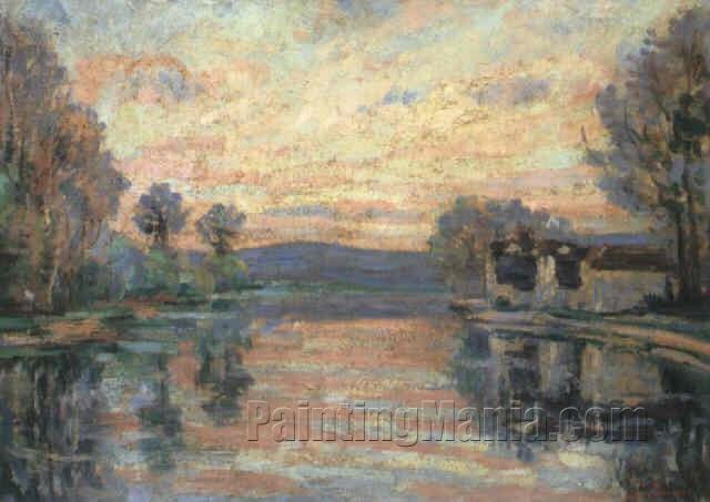 The Seine at Samois 1902