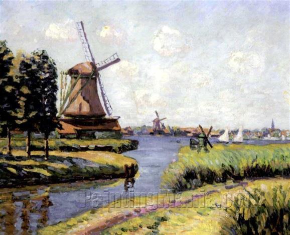 Windmills of Saardan, Holland