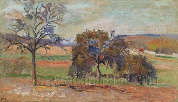 Wooded landscape 1890