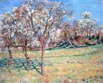 Apple trees in Damietta