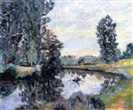 Banks of the River at Villiers-sur-Morin