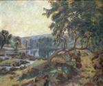 Barrage de Genetin 1900
