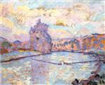 Barrage de Gennetin le matin, Crozat