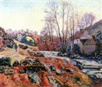 The Bouchardon Mill, Crozant c.1895