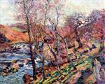 The Bouchardon Mill, Crozant, Spring