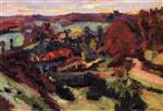 Crozant in Autumn