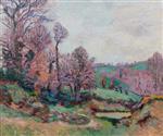 Crozant Landscape c.1895