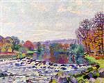 Dam at Genetin 1905