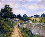 Ile de France Landscape 1885