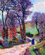 La Creuse Landscape 1902