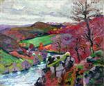 La Creuse Landscape 1910