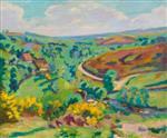 La Creuse Landscape c.1910