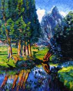 Landscape at Breuillet