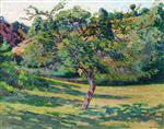 Landscape at Creuse with Tree