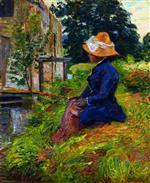 Madame Guillaumin Fishing 1885