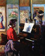 Mademoiselle Guillaumin at the Piano