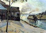 The Seine at Alfortville 1885