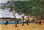 The Seine at Paris (Quai de la Rapee)