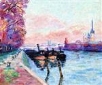 The Seine at Rouen 1898